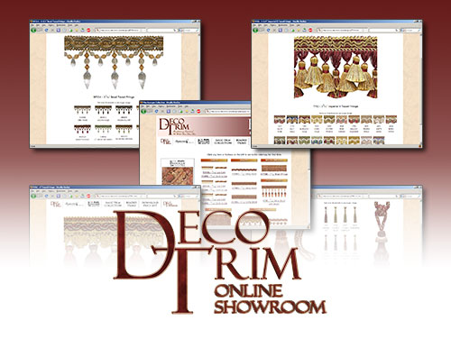 Enter the Decotrim Online Showroom