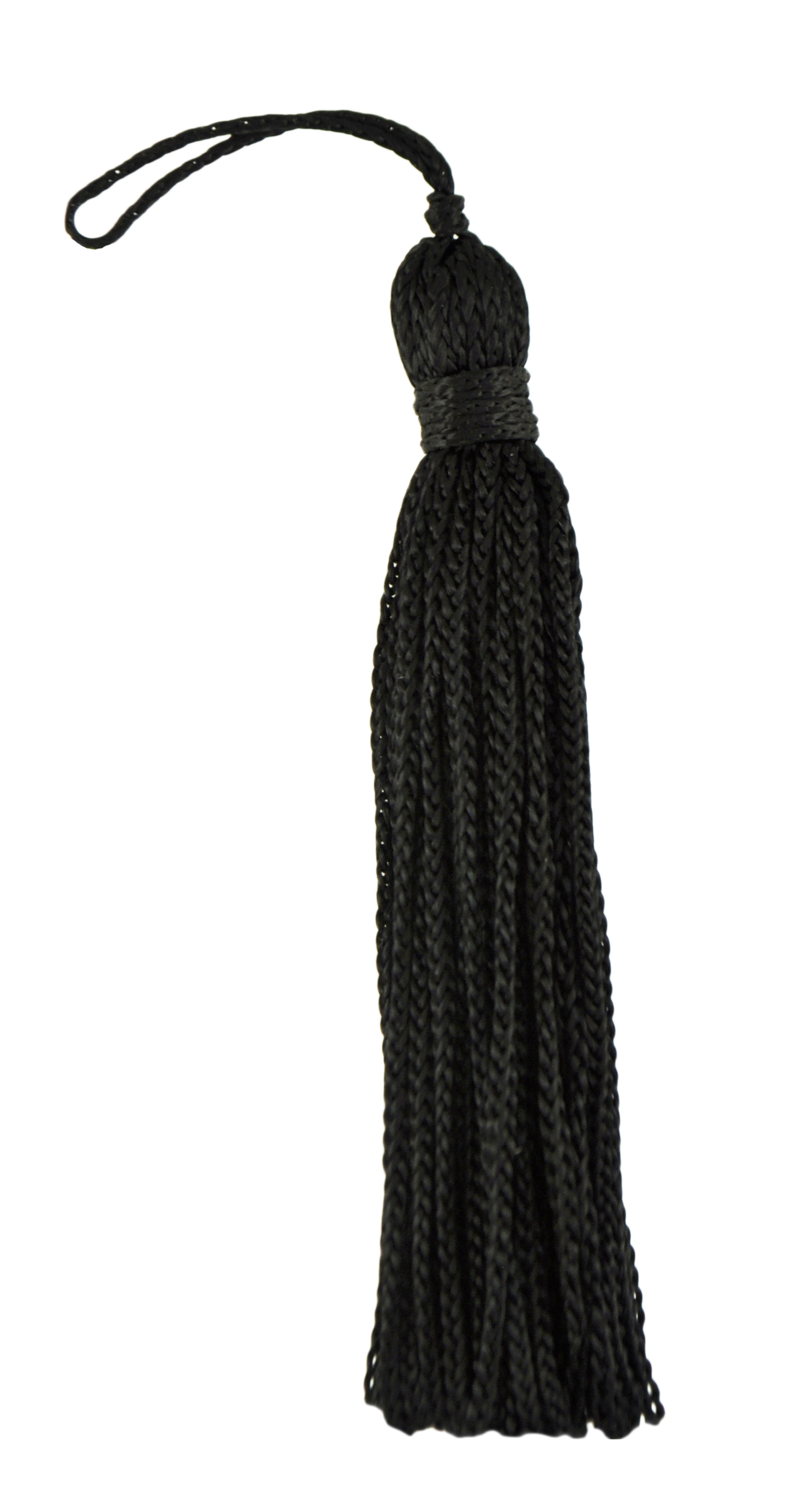 DecoPro Set of 10 Black Chainette Tassel, 3 Inch Long with 1 Inch Loop, Basic Trim Collection Style# RT03 Color: K9 at Sears.com